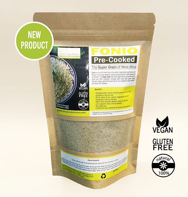 Fonio Pre-Cooked 400G
