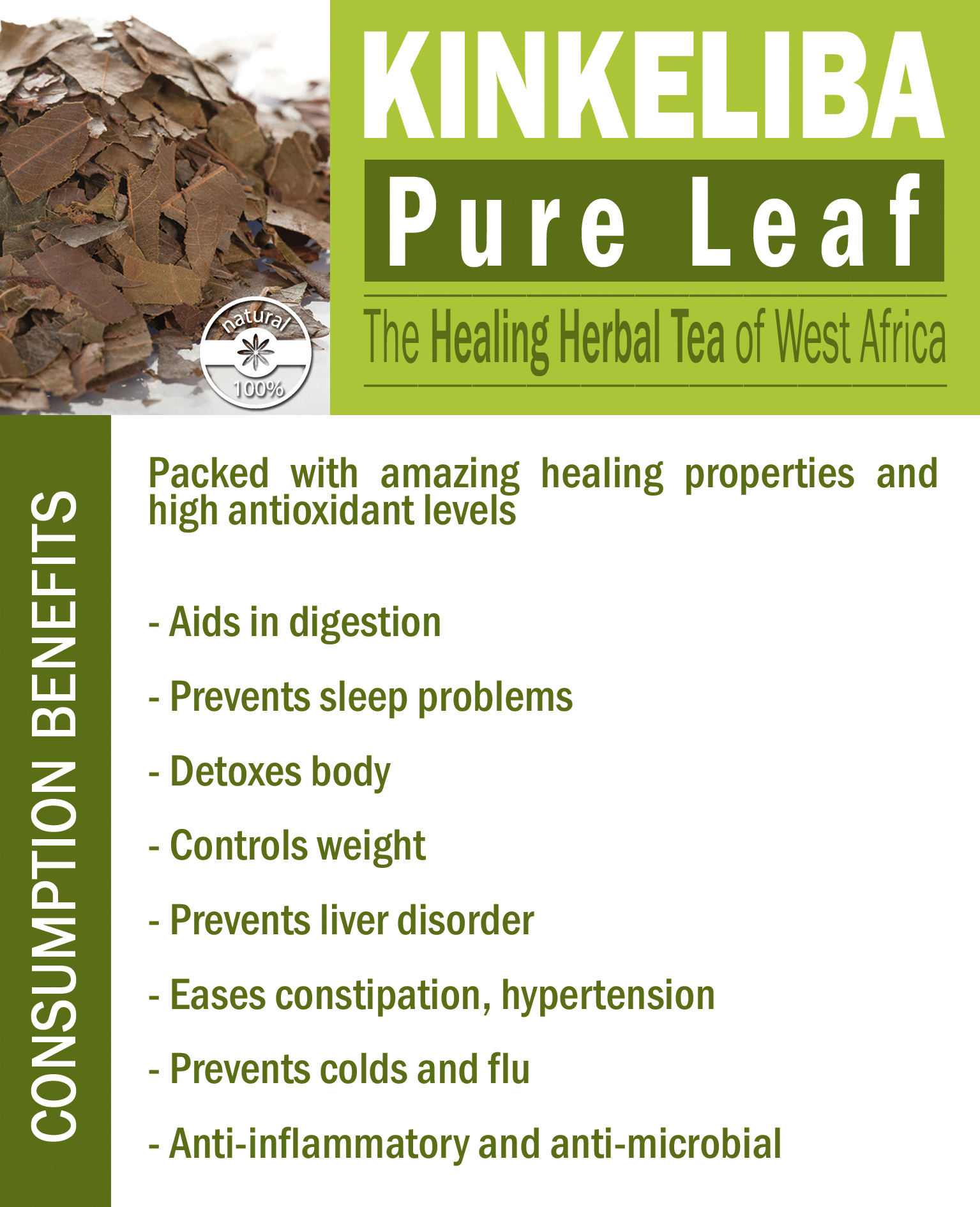 Kinkeliba Pure Leaf Benefits